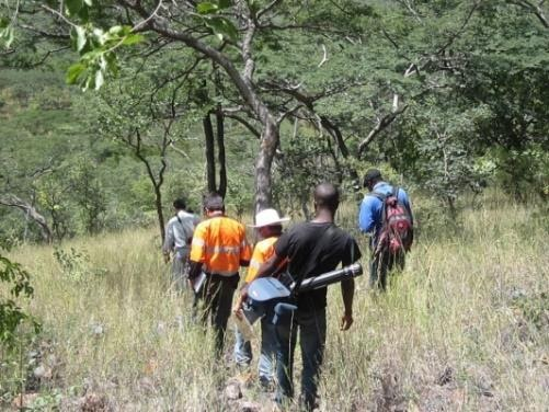 Geological Mapping in Zimbabwe